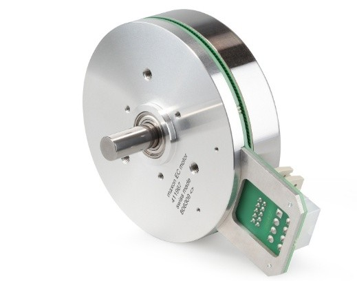 Compact Servo Motors With Inductive Encoders