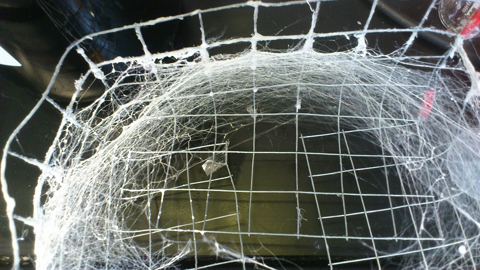 The simple way of describing Saeed's method is that it works like a candy floss machine