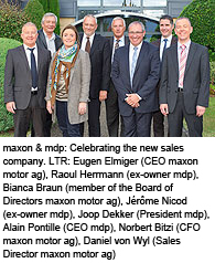 maxon motor, the provider of DC motors and drive systems, is constantly expanding its global network in order to be able to react to the needs of its customers faster and more flexibly
