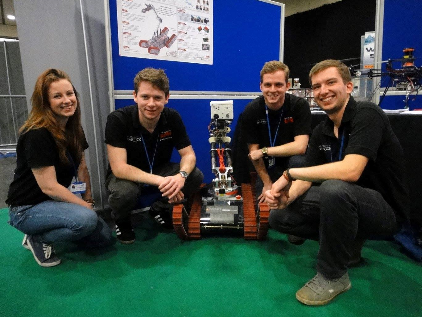 This year the project is being run by eight final year Engineering students as part of their MEng Engineering degree