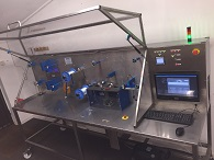 Their new machine inspects the sutures for defects, enabling companies to make substantial savings in both labour and material costs and achieve a much higher quality product