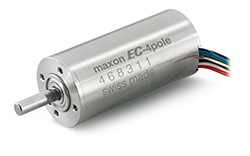 maxon motor has developed a robust brushless DC motor for hand-held surgical tools: the EC-4pole 30