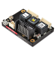 Often the entire cost of developing a motor controller is not realised, customers tend to be attracted by the initially cheap overheads of buying the separate components and making a customised drive, in comparison to the seemingly expensive off-the-shelf solution