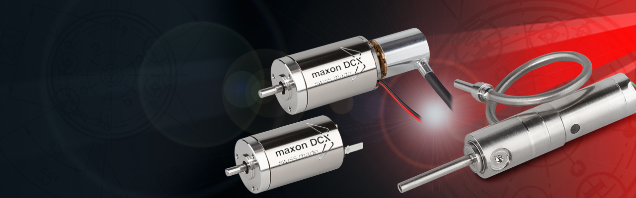 maxon manufactures standard products, modified products and we can also build complete systems