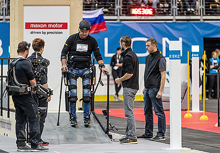bb48719a12 Overcoming everyday obstacles and driving technological development: For the  first event 2016 in Zurich,
