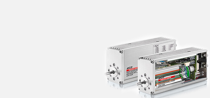 maxon compact drives combine control, sensors, and a motor in a modern aluminum casing